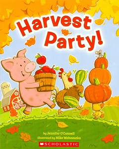 cover harvest party
