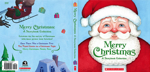The Christmas Story Book.Merry Christmas A Storybook Collection